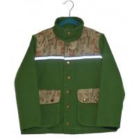 Куртка зеленая