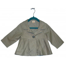 Пальто нарядное льняное
