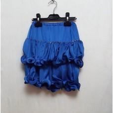 Юбка для танцев синяя