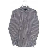 Рубашка в полоску 38 воротник