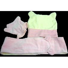Комплект велюровый розовый