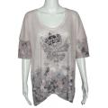Блуза с украшением
